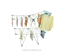 2 layer large space folding aliform clothes drying rack