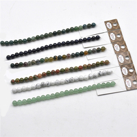 fashion 8mm diy decoration round crystal gemstone glass beads