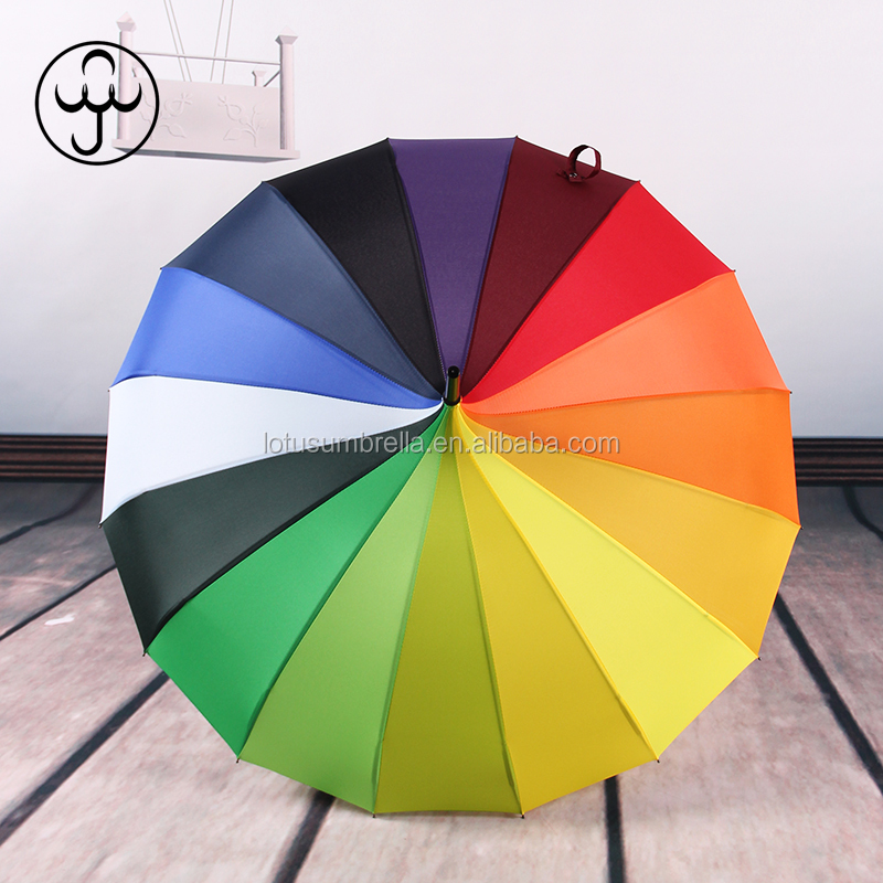 rainbow  colorful pagoda umbrella