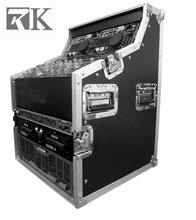 DJ Gear/Flight Case for DJ workstation