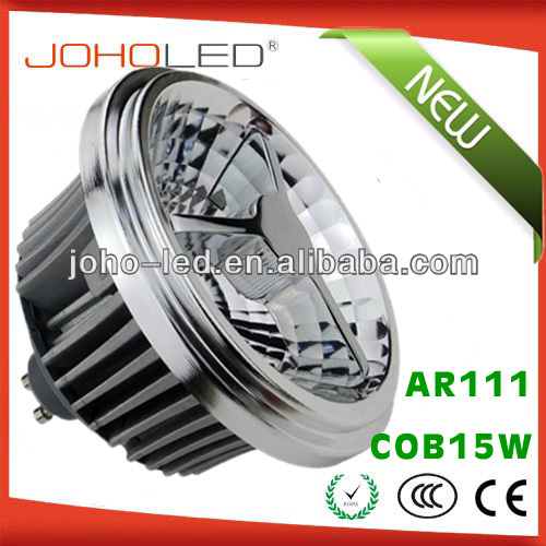 JOHO new private model AR111D-COB15W G53 E27 GU10 ar111 <strong>r111</strong> <strong>led</strong> lamp