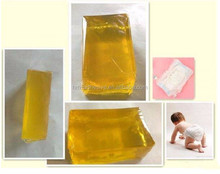 baby diaper edge bonding hot melt glue stick no smell with SGS test report