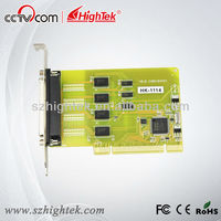Industrial UK Chip 4 port wireless pci serial card
