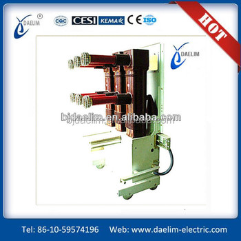 ZN85-40.5 type (3 av3) indoor ac high voltage vacuum circuit breaker