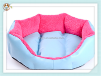 Summer seasons PU leather sofa cheap pet bed for dog