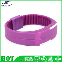 New Fashion Waterproof Silicone Screen LED Wristband Watch Unisex Sport Digital Watches Hot Selling