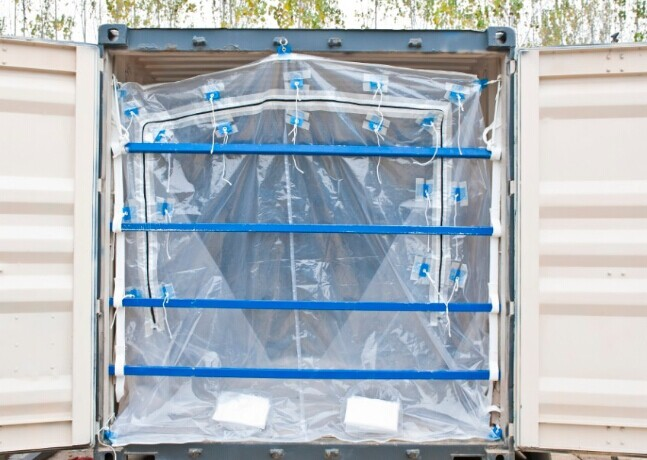 LAF zipper loading container bag flexi bag dry bulk container liner PE bag