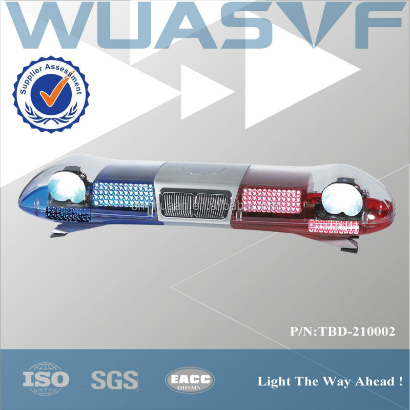 led lightbar for patrol car with search light TBD 210002