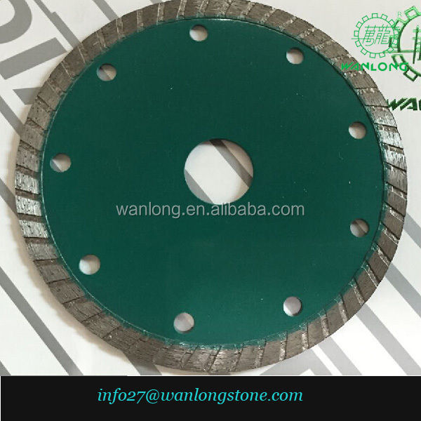 110mm/4.3'' ceramic tile cuting blade for granite, concrete, marble, hot sale in Brazil