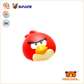 Hotsale red bird squishy ball, cutom stress ball promotional
