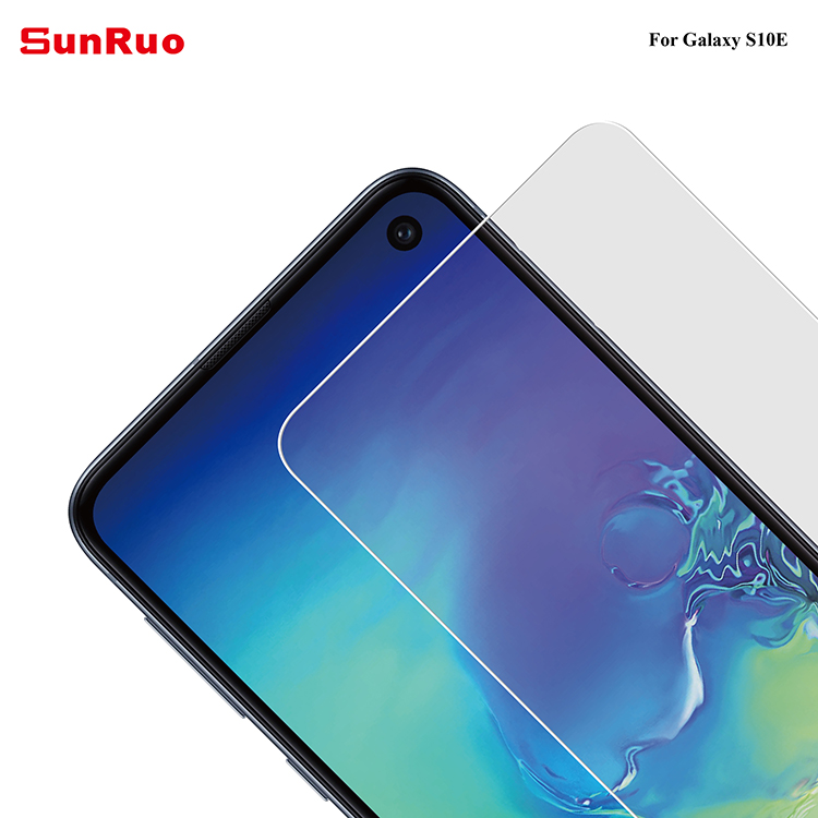 Easy install 0.26mm S10e tempered glass screen protector for S10 Samsung S10e screen protector film with applicator