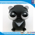 Custom vinyl squeeze toy ,Hot sale eye pop squeeze toy,Wholesale soft vinyl pig eyes pop out squeeze toy