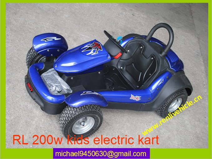 200W 24V battery kart children
