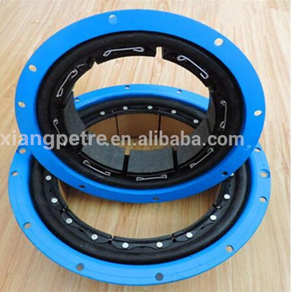 API 7K Pneumatic Tube Clutch For Mud Pump , CB/VC type air tube clutch/pneumatic drum clutchs and brake for oil drilling