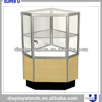 electric jewelry rotating display case for sale