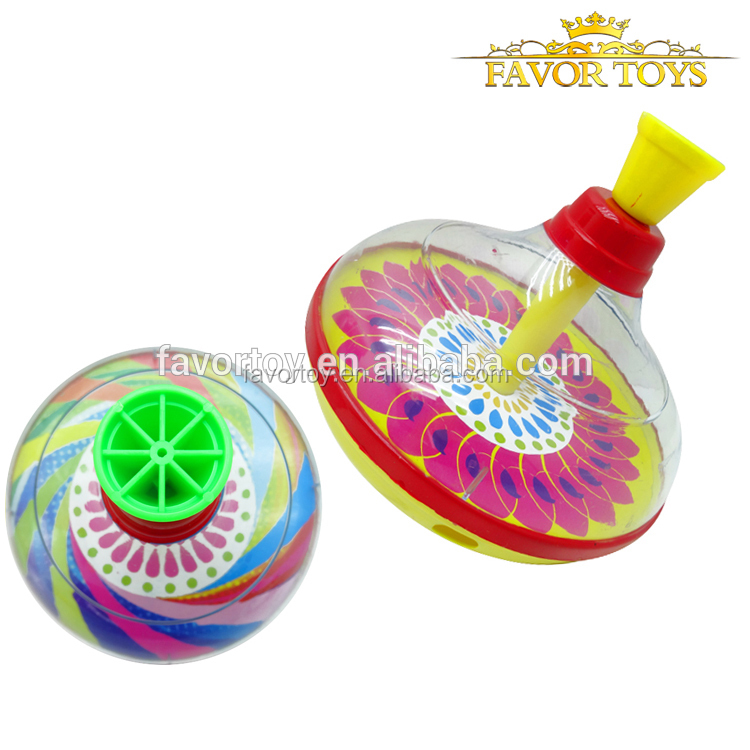 2016 new products plastic peg-top spinning top toys for kids