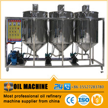 Wholesales seed oil refining machine refined canola oil from canada