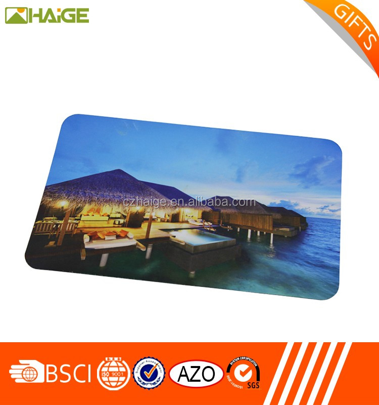 Promotional personalized mouse pads
