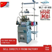 automatic socks knitting machine for cotton man sock with single cylinder