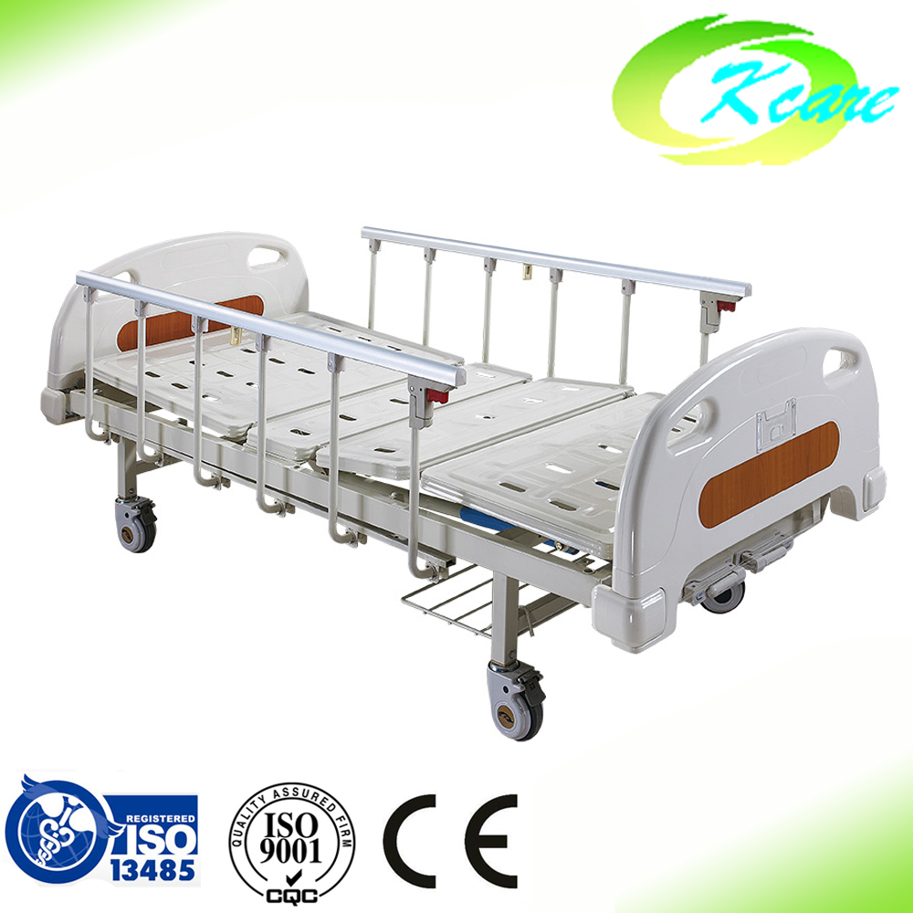 Cheap price ICU 2 crank hospital used manual nursing bed
