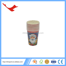007 christmas decoration disposable cone wholesale paper cup