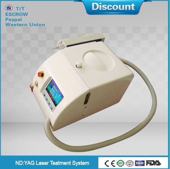 Tattoo Removal Beauty Equipment/factory portable nd yag laser/nd yag q switch laser