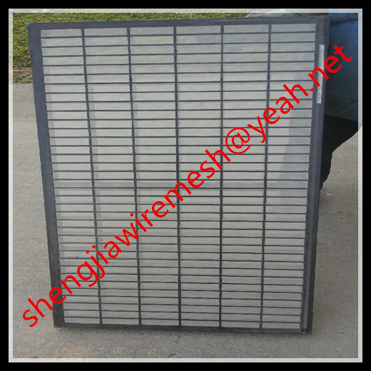 SWACO Mongoose oil vibrating sieving mesh/plastic frame shaker screen, API certificate