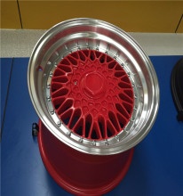 Car aloy wheel rims in alloy
