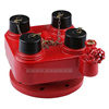 Fire Hydrant Breeching Inlet Valve, 4-Way Breeching Inlet Valve