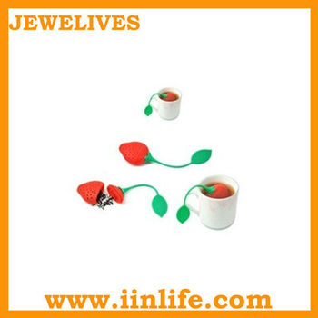 Novelty silicone tea infuser for wholesale