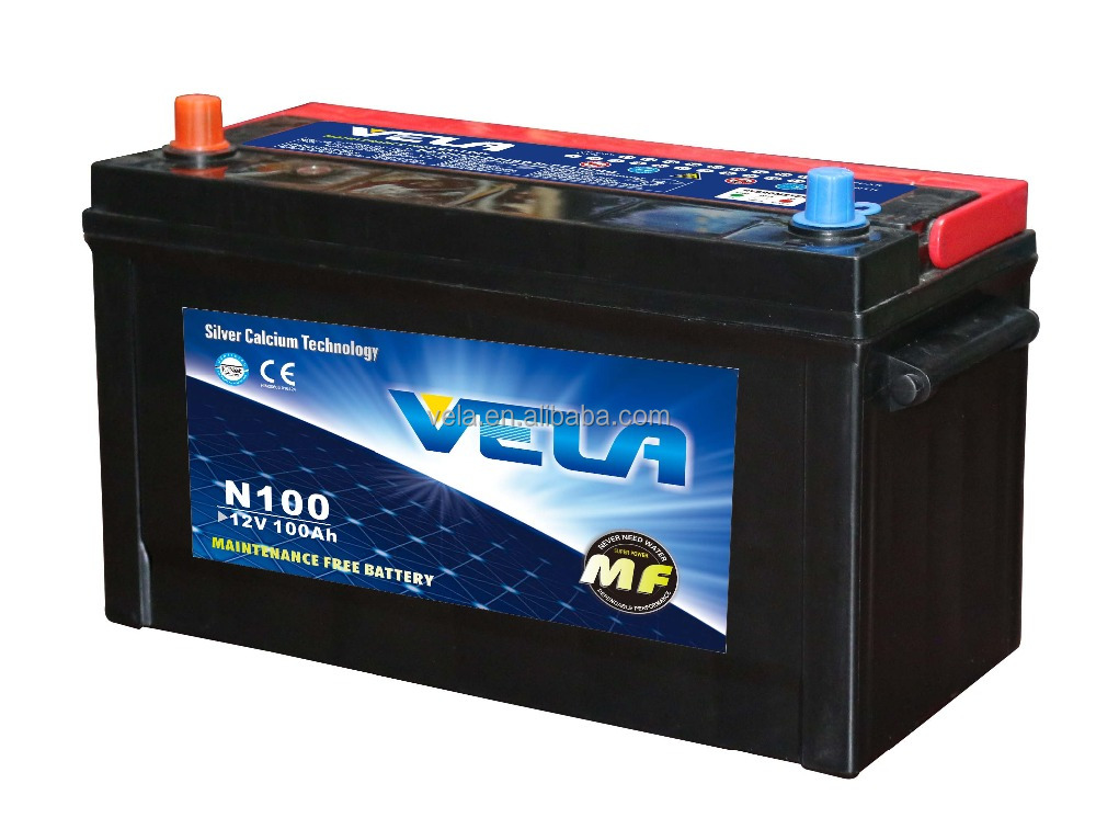 Accessories for car maintenance free <strong>battery</strong> 12V100AH <strong>N100</strong>/95E41R