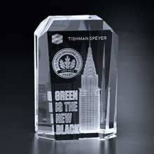 Wholesale quality crystal glass cube block 3d laser for engraving blank crystal cubes block photo crystal glass cube
