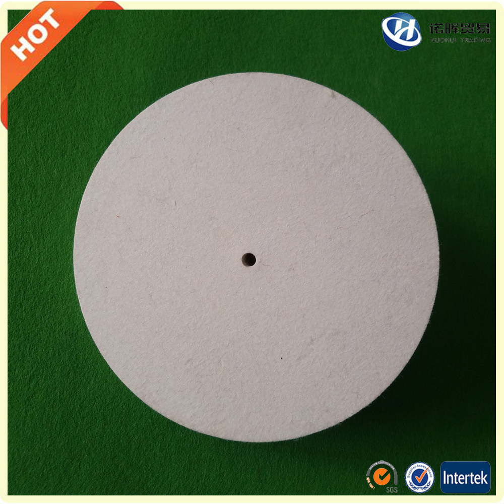 China whosale wool felt polishing wheels in stock