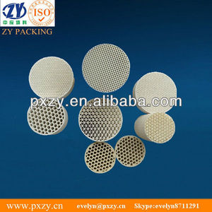 Honeycomb Ceramics as catalyst carrier for car exhaust gas purifier