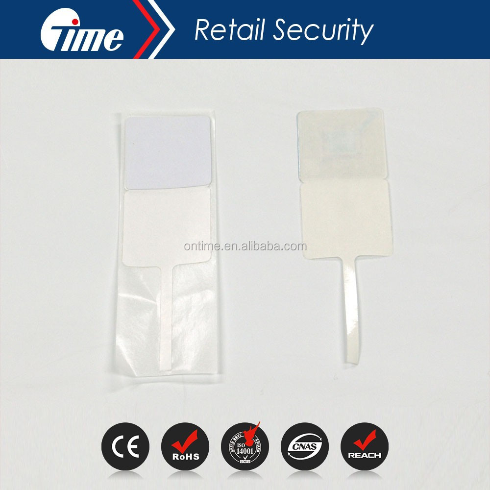 Ontime RL4655 EAS 8.2MHz Security Soft Jewelry RF Paper Labels Tag Compatible