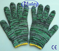 SHAN DONG Made in China Cheap Mix Colored Nylon Glove/Guantes 0146