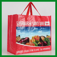 high quality woven shopping tote bag made in China