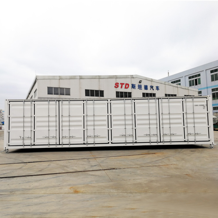 China supplier 40 feet open side shipping container for sale