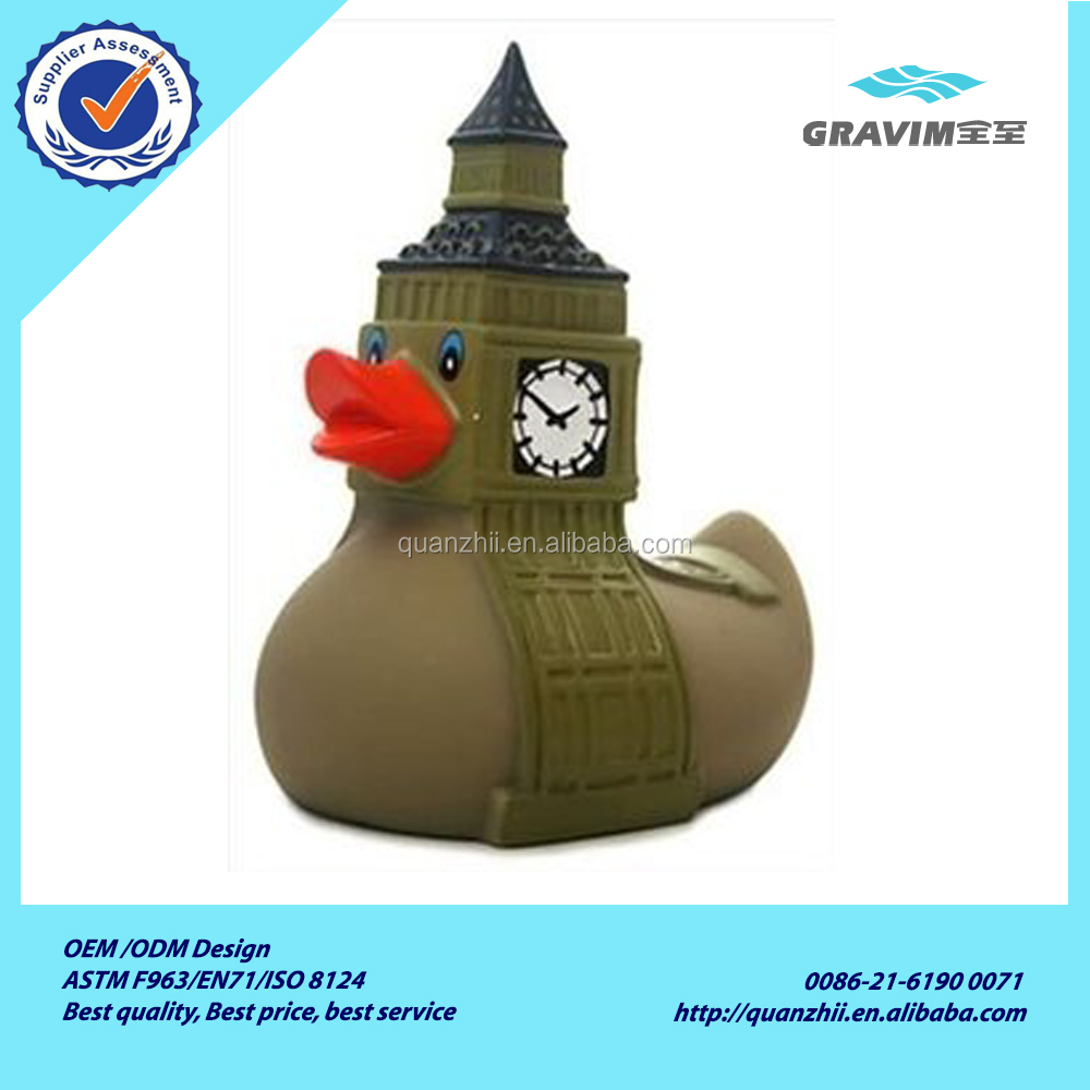Creative international national feature figure the Statue of Liberty rubber duck