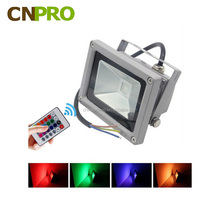 10W 20W 30W 50W Waterproof Outdoor Garden Landscape Lighting RGB LED Flood Street Light for Tree with Remote Control
