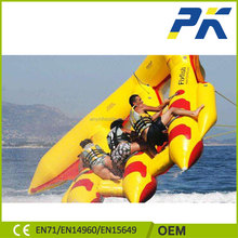 Hot sale 3 tubes flying fish inflatable water raft/ banana boat/flying towables for water sports