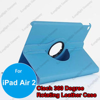 360 rotating Stand leather case for iPad air 2,Litchi Wallet 360 Rotating Tablet PC Leather Case with Stand