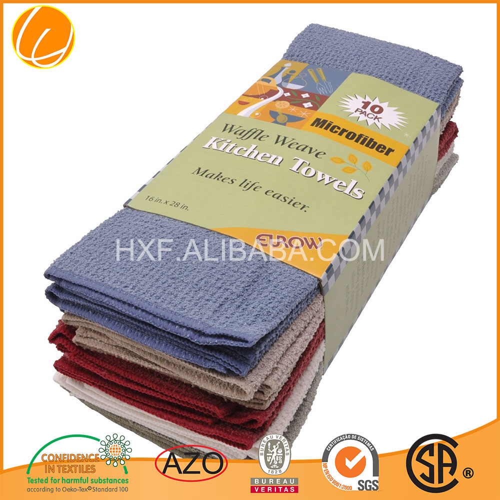 2015 Custom Promotion High Quality Hot Sale microfiber dish towel microfiber dish cloth wholesale Microfiber Manufacture Factory