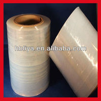 Packing print custom lldpe film hot blue film for wrapping