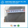 Monel 400 wire mesh / screen for silter