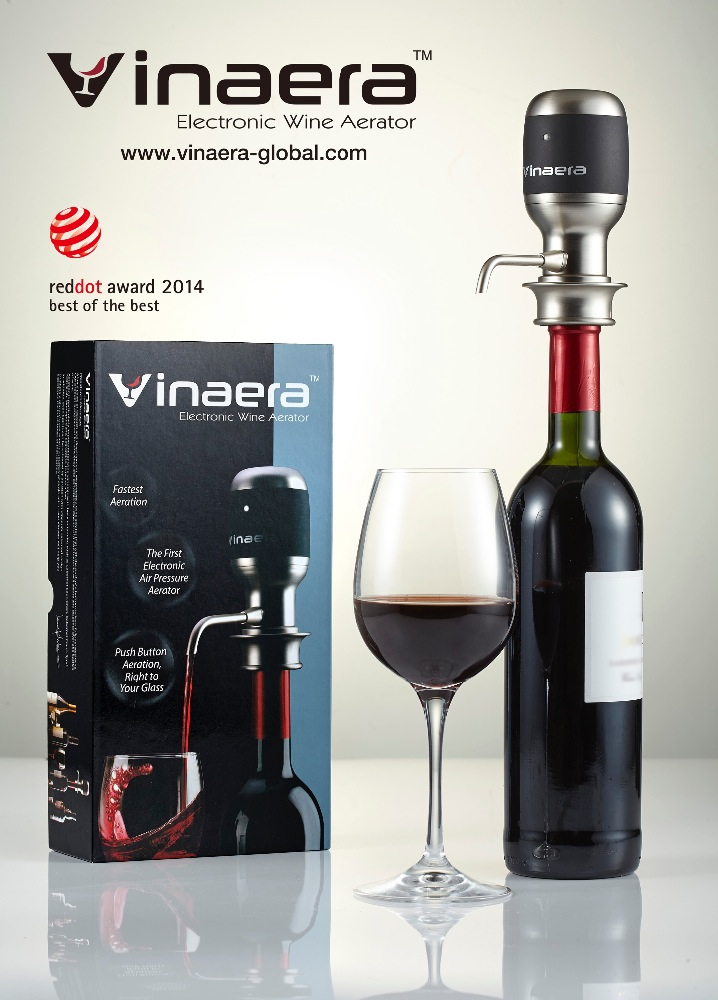 patent wine accessory electronic wine aerator