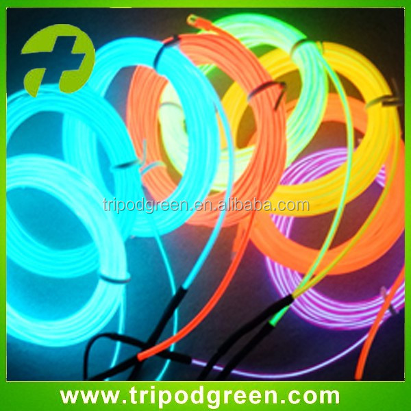Orange Electroluminescent Wire, Orange 2.3mm EL Wire, Polar Light 3 EL Wire