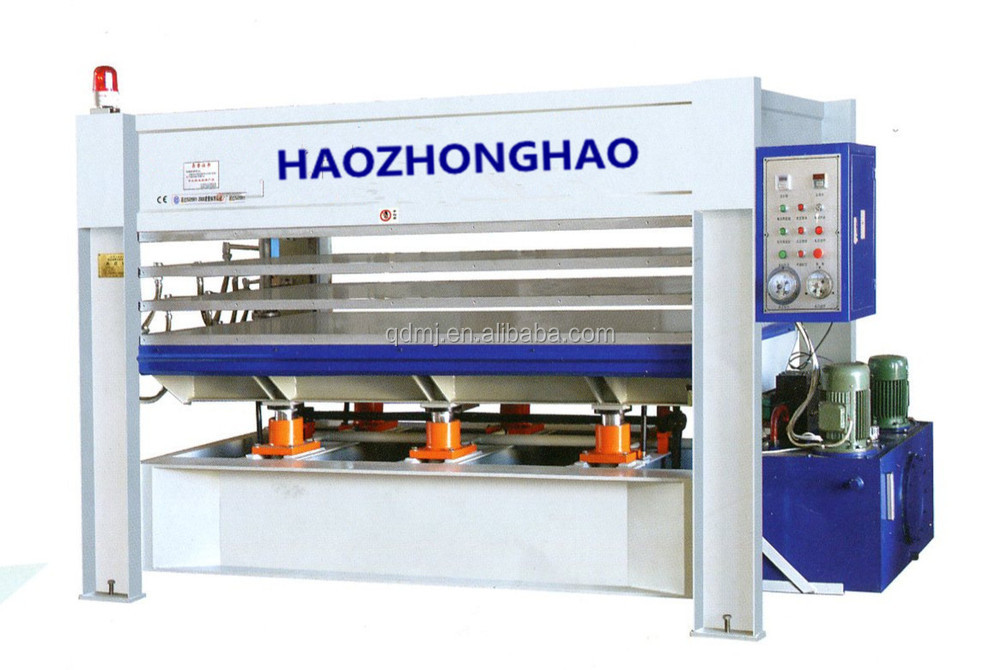 Woodworking plywood furniture hydraulic Hot press machine