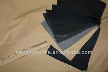 Wholesale Wool Polyester 50/50 Suit Fabric Stock With English Selvedges