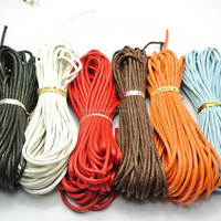 wholesaler braided twisted cotton string waxed cord